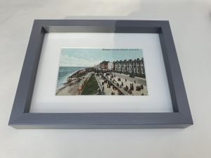 Blackpool from Hotel Metropole Vintage Postcard