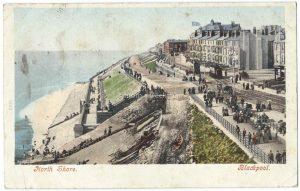 Blackpool North Shore Vintage Postcard