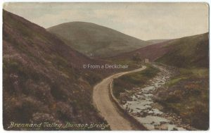 Brennand Valley Vintage Postcard
