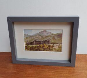 Holyroodhouse Edinburgh Vintage Postcard
