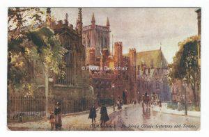 Cambridge, St John's College Gateway & Tower