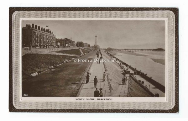 North Shore, Blackpool Vintage Postcard