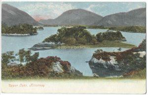 Upper Lake, Kilarney Vintage Postcard