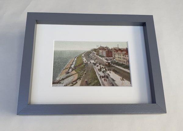 Blackpool North Parades Vintage Framed Postcard