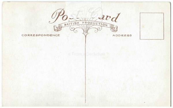 Palace Pier Brighton Vintage Postcard Back