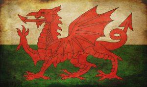 Vintage postcards of Wales