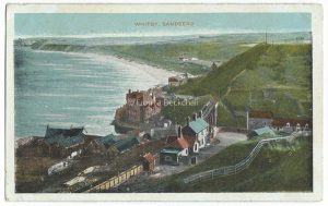 Whitby Sandsend Vintage Postcard