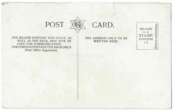 Whitby Sandsend Vintage Postcard Back