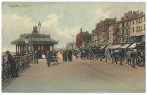 Brighton Front Vintage Postcard