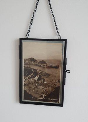 Ilfracombe Vintage Postcard Hung 2