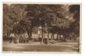 Cheltenham The Promendae Vintage Postcard