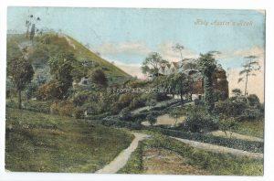 Holy Austin's Rock Vintage Postcard