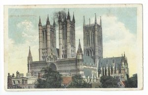 Lincoln Cathedral Vintage Postcard