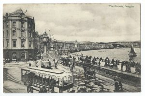 The Parade Douglas Vintage Postcard