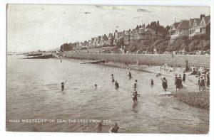Westcliff-on-Sea Vintage Postcard