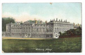 Woburn Abbey Vintage Postcard