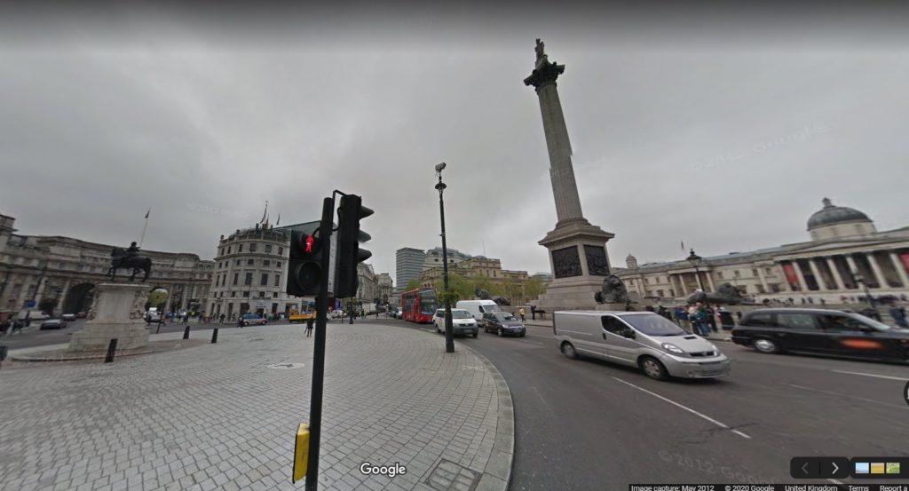 Nelson's Monument, Trafalgar Square