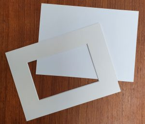 Acid Free, Soft White Mount and Backer Board
