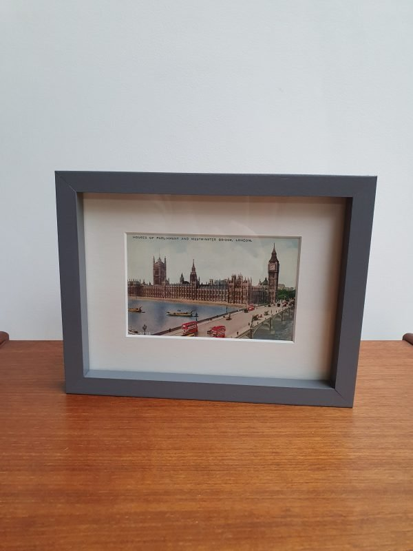 Vintage Postcard of London - Houses of Parliament 1950s