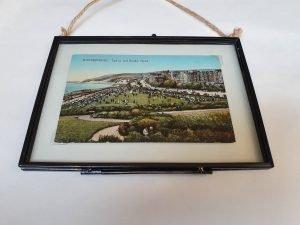 Eastbourne Vintage Framed Postcard