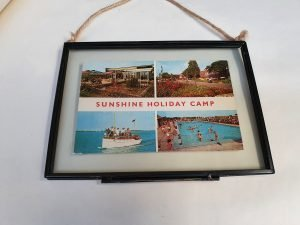 Sunshine Holiday Camp VIntage Postcard