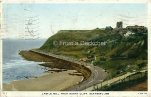Vintage Postcard of Castle Hill, Scarborough