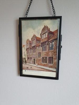 Northampton Vintage Postcard Hung