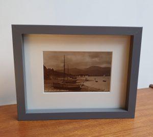 Barmouth Framed Vintage Postcard