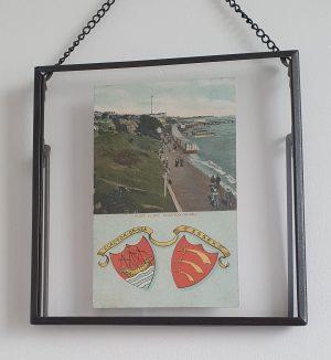 Clacton on Sea Vintage Framed Postcard