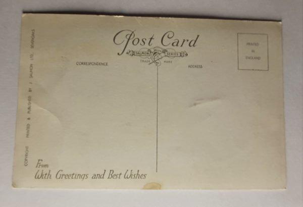 Walton on the Naze Vintage Postcard Back
