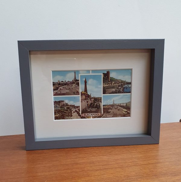 Blackpool Mid-Century Postcard