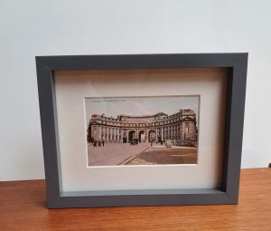 Admiralty Arch London Vintage Framed Postcard
