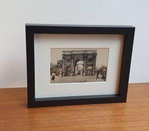 Marble Arch in London Framed Vintage Tucks Postcard