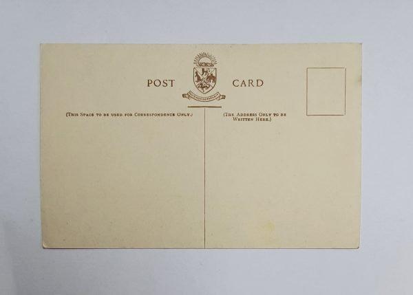 RMS Strathmore Vintage Postcard Back