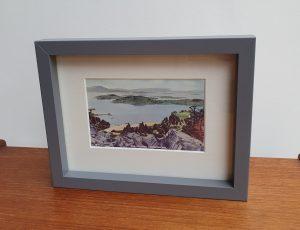 The Islands Loch Lomond Framed