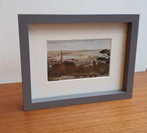 Weston Super Mare Framed Vintage Postcard