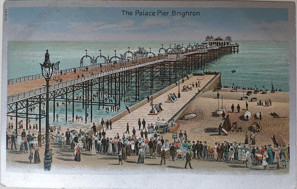 Brighton Vintage Postcard