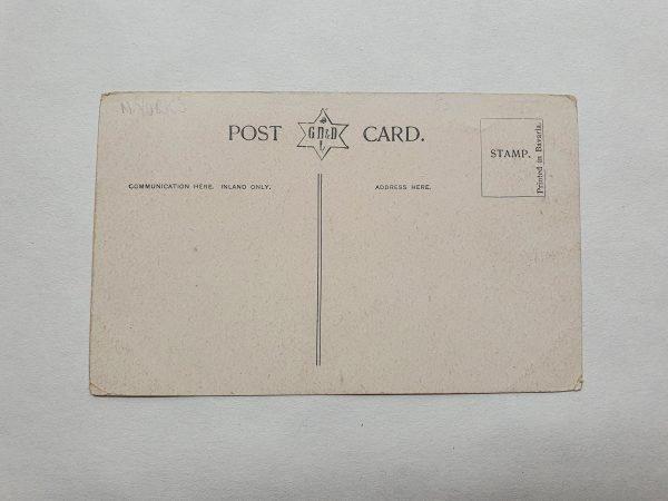 Crescent Gardens Harrogate Vintage Postcard Back