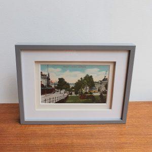 Crescent Gardens Harrogate Framed