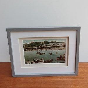 Regatta Day Dover Vintage Postcard Framed standing