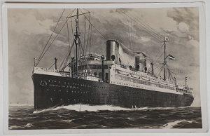 SS General von Steuben Vintage Postcard