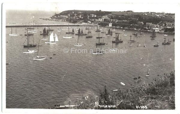 Vintage Postcard Brixham