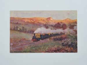 Chemin De Fer D'Orleans - Express de Paris Vintage Postcard