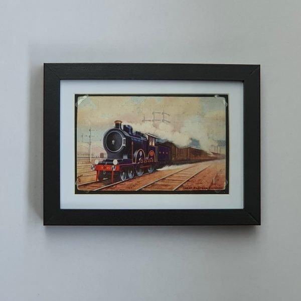 Great Eastern Express Vintage Postcard Framed Flat