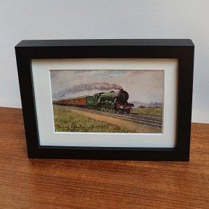 LNER Flying Scotsman Vintage Framed Postcard 1935